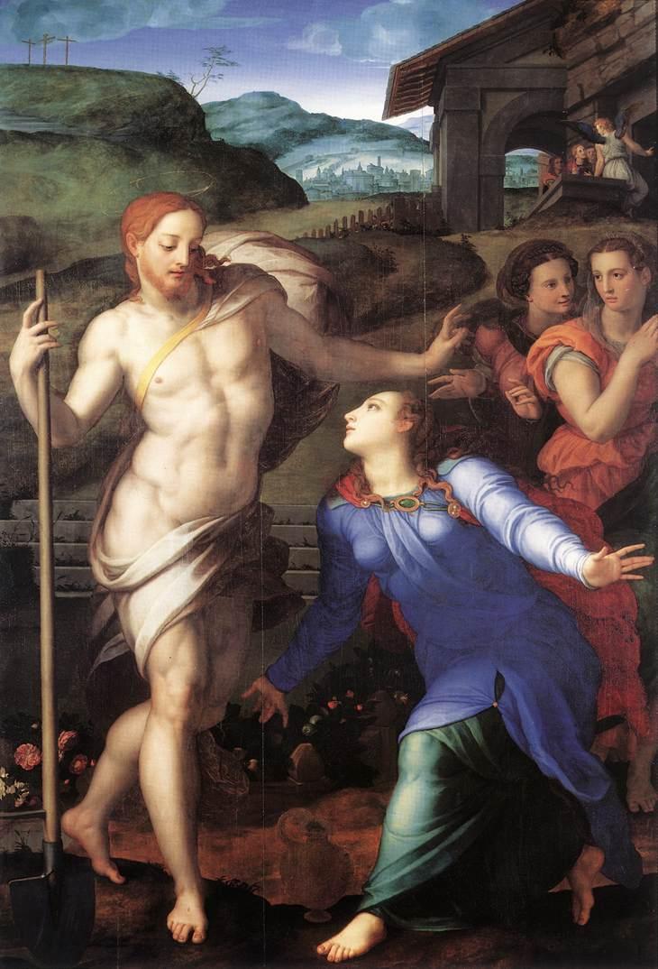Bronzino, Noli me tangere. 1561